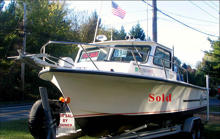 25 39 c hawk fishing boat for sale in md 25 ft fishing boat for Fishing boats for sale by owner